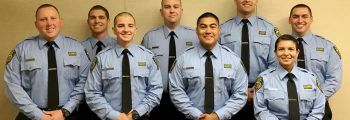 Eight new police trainees hired