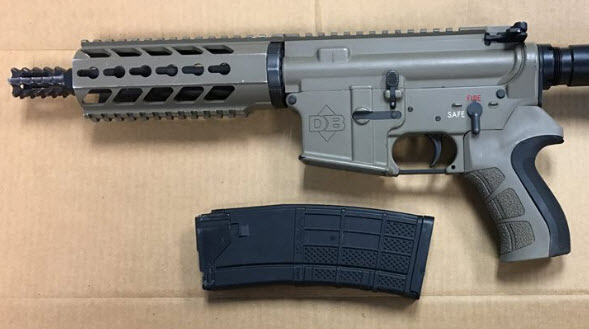 Recovered AR-15