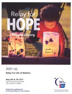 Relay For Life 2017 Flyer