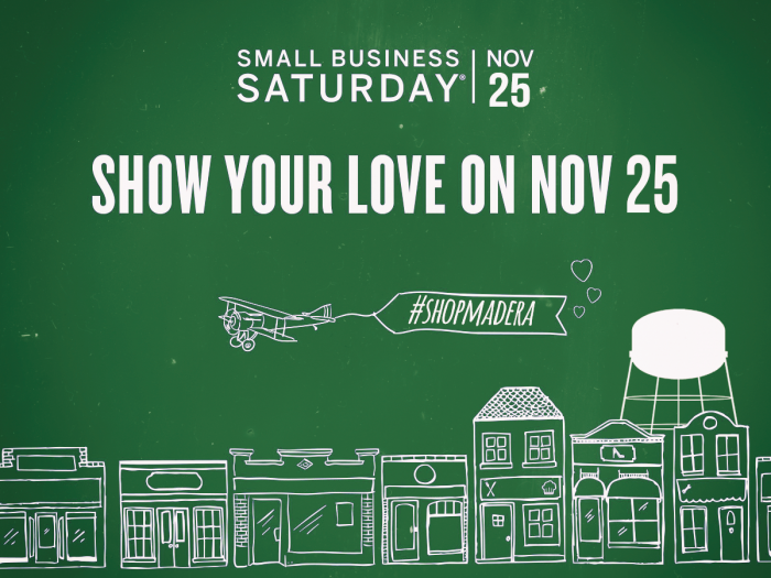 Small Business Saturday Madera 2017